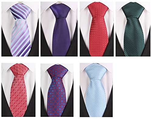 Set+of+7+Elegant+Neck+Ties+By+Mens+Collections+-+Multiple+Sets+to+Chose+From+%28Set-24%29