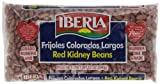 Iberia World Foods Beans, Kidney, Lt Red, Dry, 12-Ounce (Pack of 24)