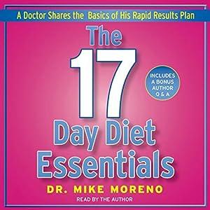 The 17 Day Diet Essentials Audiobook