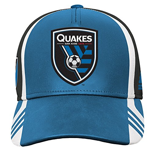 Outerstuff MLS San Jose Earthquakes Boys Structured Adjustable Hat, Master Blue, One Size (8)