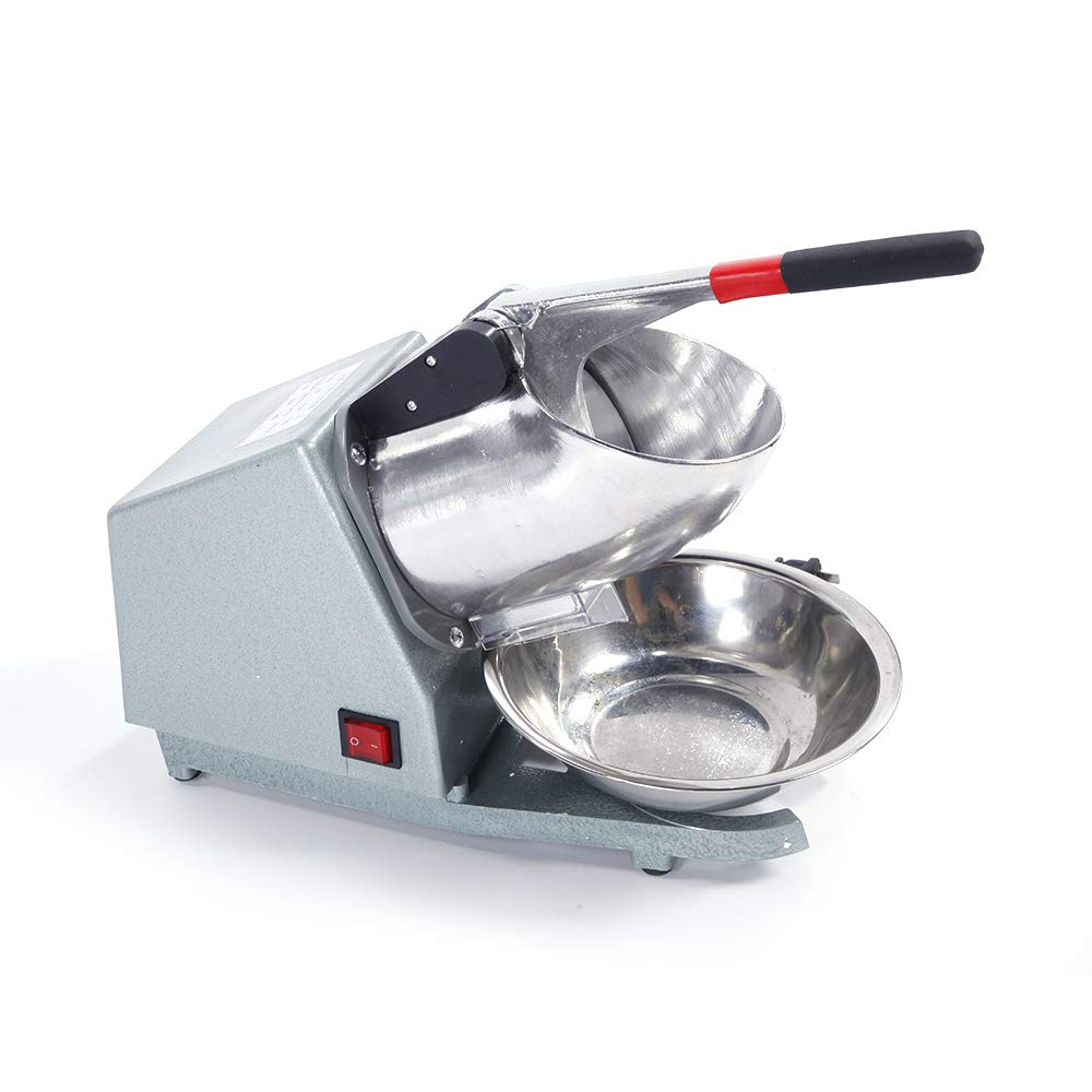 Moonvvin Electric Shaved Ice Maker, Ice Crusher Shaver Snow Cone Maker Machine 143lbs/hr for Home Commercial Use by Moonvvin