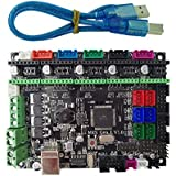 SODIAL MKS Gen L V1.0コントローラーPCBボード集積メインボードRamps1.4 / Mega2560 R3との互換性 a4988/DRV8825/TMC2100/LV8729をサポート
