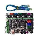 SODIAL MKS Gen L V1.0 controller PCB board integrated mainboard compatible Ramps1.4/Mega2560 R3 support a4988/DRV8825/TMC2100/LV8729