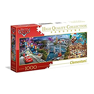 Clementoni Disney Panorama Collection Cars Puzzle 1000 Pezzi 39446