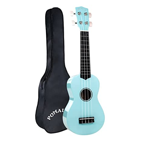 Amazon Pomaikai Soprano Ukulele 21 Inch With Gig Bag For Kids