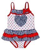 Little Me Baby Girls Stars and Heart Swimsuit (24 months)