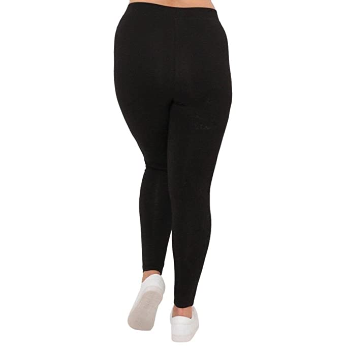 4d492c41aaa Women s Sexy Power Flex Yoga Pants Hole Workout Trousers Running Leggings  Plus Size at Amazon Women s Clothing store
