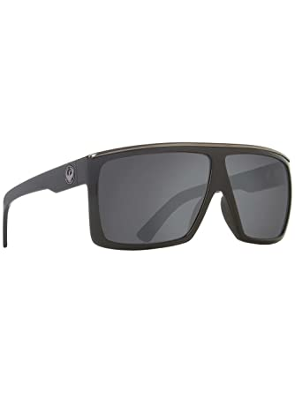 5549cabcfed Dragon Alliance Fame Polarized Large Fit Sunglasses Jet Grey One Size   Amazon.in  Clothing   Accessories