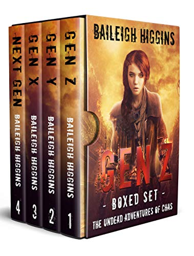 Gen Z: Boxed Set (The Undead Adventures of Chas Books 1 - 4) by [Higgins, Baileigh]