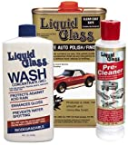 Liquid Glass Ultimate Auto Polish, Wash and Pre-Cleaner Bundle (3 Items)