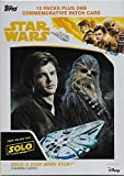 #8: 2018 Topps Solo A Star Wars Story Factory Sealed Blaster Box of Packs including One EXCLUSIVE Commemorative Patch Card