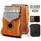 MIFOGE Kalimba Thumb Piano 17 Keys with Mahogany