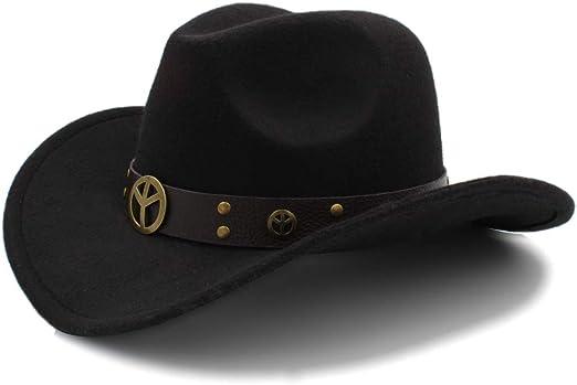GBY Sombrero de Vaquero de los Hombres Ante de Gamuza Salvaje ...