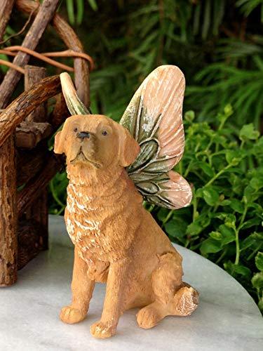 Buy golden retriever statue welcome