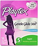 Health & Personal Care : Playtex Gentle Glide Tampons with Triple Layer Protection, Super, Unscented - 18 Count (Pack of 2)