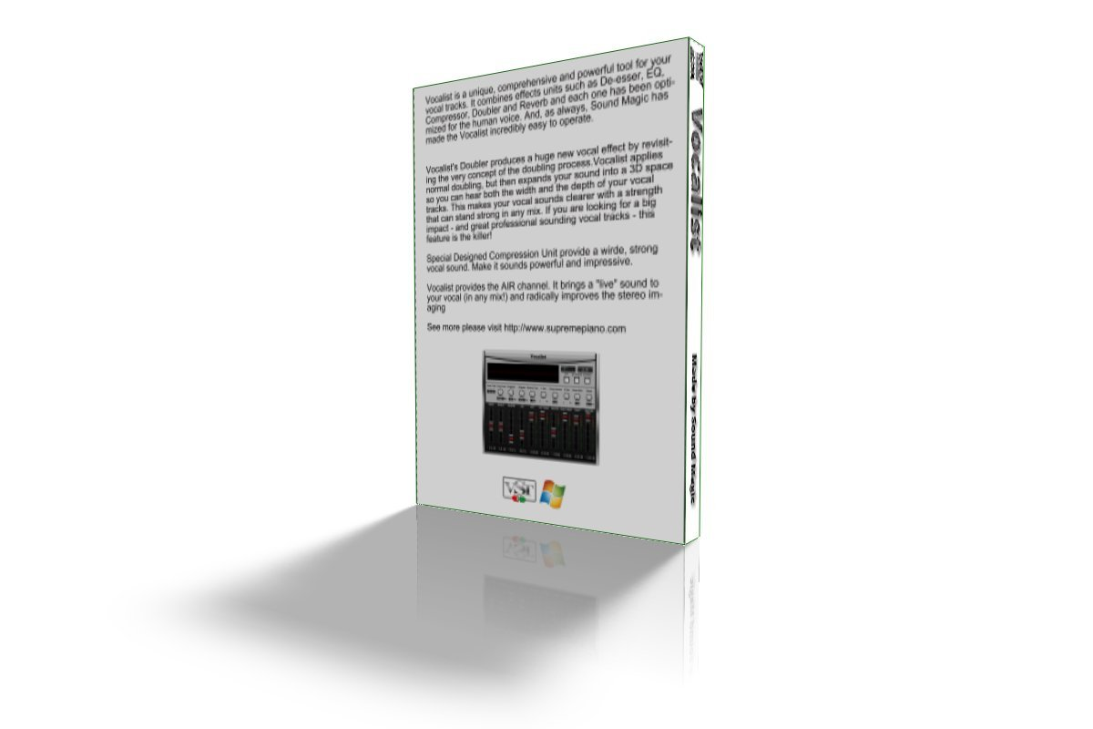 Sound Magic Vocalist Vocal Processing Tool Software by SoundMAGIC
