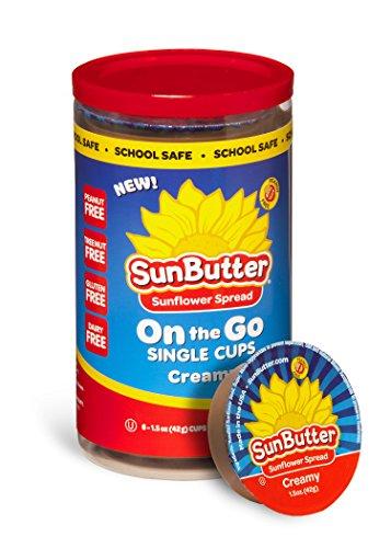 SunButter Sunflower Butter, Delicious, Creamy Alternative to Peanut Butter, 1.5 oz 6 count
