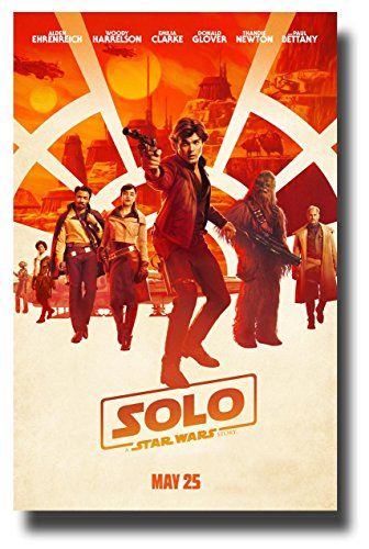 Solo Poster Movie Promo 11 x 17 A Star Wars Story Main NT