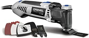 Dremel MM35-DR-RT 120V 3.5 Amp Variable Speed Corded Oscillating Multi-Tool Kit (Renewed)