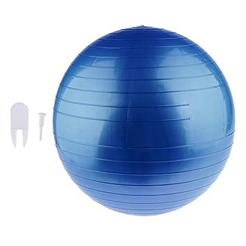 IPOTCH Ejercicios de Balón de Yoga Antideslizantes con Tapón de ...