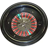 Deluxe 18 Inch Home Style Bakelite Roulette Wheel - Comes with 2 Free Balls (Pills)