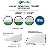 Med Joy- Bed Wedge Pillow with 2 Covers