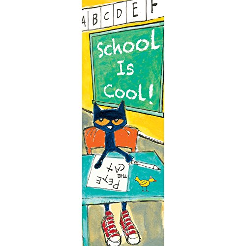 Pete the Cat School is Cool Bookmarks School Bookmark