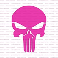 amazon com punisher skull stencil template reusable stencil with