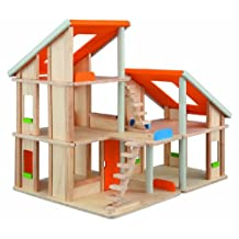 Plan Toys- Chalet Doll House With Out Furniture
