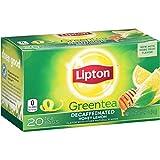 Lipton  Green Tea, Decaffeinated Honey Lemon 20 ct