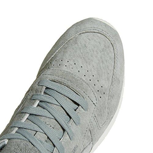 Mujer Lthr Gris Matte Reebok Cl de Grey Silver Flint para Deporte 000 Chalk Shimmer Zapatillas U0qA0w5
