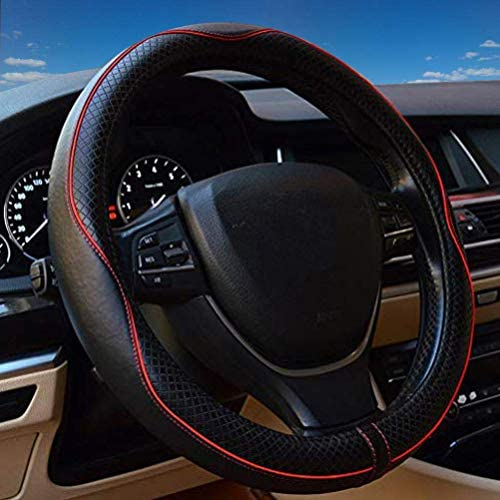 Steering Wheel Cover Leather Universal product image