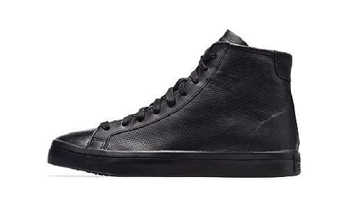 42498ead8fec Adidas Court Vantage Herren Sneaker Schwarz - Größe  44 EU  Amazon ...