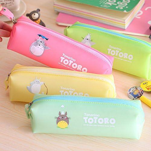 Estuche escolar de Totoro, ideal como neceser para maquillaje o como monedero: Amazon.es: Hogar