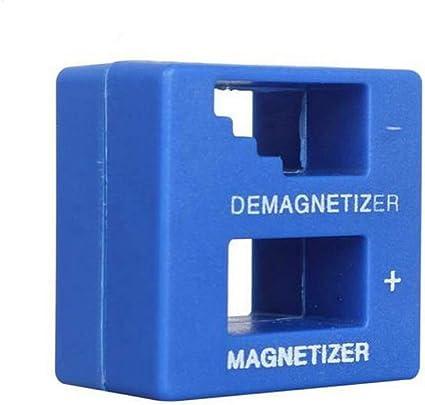 Outletdelocio. Magnetizador-Desmagnetizador de destornilladores y puntas. Imantador-desimantador. 50x48x28mm: Amazon.es: Electrónica