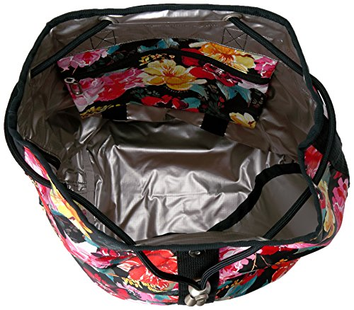 LeSportsac Essential Black Romantics Backpack Shopper qgnrfq