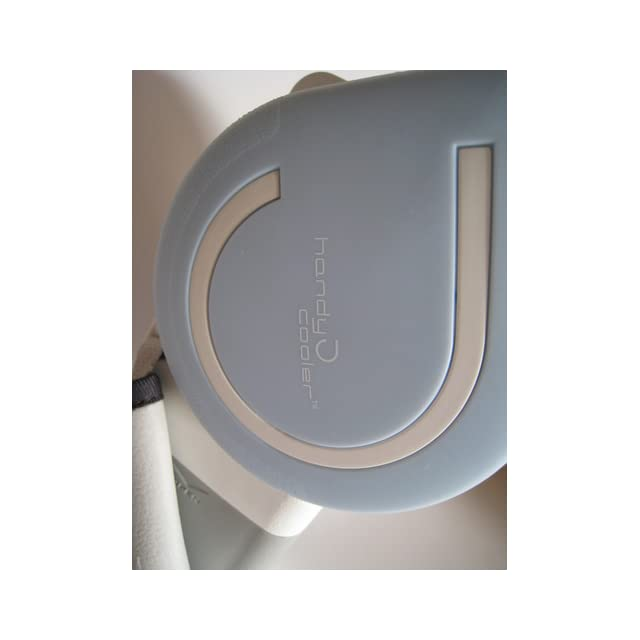 The Original Handy Cooler Small Fan & Mini Air Conditioner, Blue