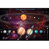 Solar System Outer Space Galaxy Educational Astronomy Poster 24 x 36 inches