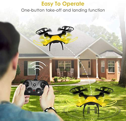 SimileLine RC Drone,Best Drone for Kids and Beginners Easy to Fly Drone,RC Helicopter Plane with Auto Hovering, 3D Flip, Headless Mode, Remote Control Toys for Boys and Girls