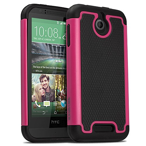 AERO ARMOR Protective Case for HTC Desire 510 - Hot Pink