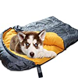 Lifeunion Dog Sleeping Bag Waterproof Warm Packable Dog Bed for Travel...