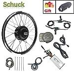 Schuck-48V-250W-26-Kit-di-conversione-Bici-elettrica-Ruota-Anteriorecon-Display-LED900S-Kit-di-conversione-Bici-elettrica