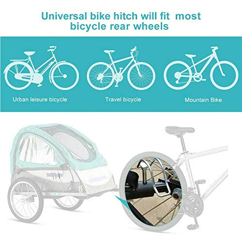 Bike Trailer Baby Pet Hitch Linker Connector Bicycle Rack Accessories