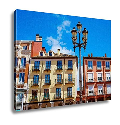 Ashley Canvas, Burgos Plaza Mayor Square In Castilla Leon Of Spain, Home Decoration Office, Ready to Hang, 20x25, AG5478646 by Ashley Canvas