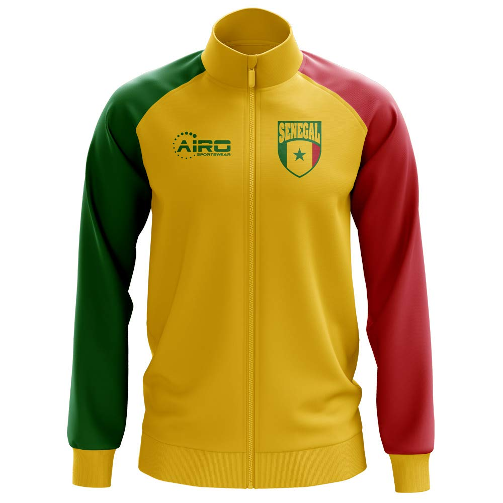 Airo Sportswear Senegal Concept Football Track Jacket (Yellow) - Kids