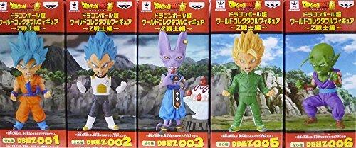 Dragon Ball ultra-World Collectible Figure  Z warrior Hen set of 5 [Goku / Vegeta / Wills / Son Gohan / Piccolo]