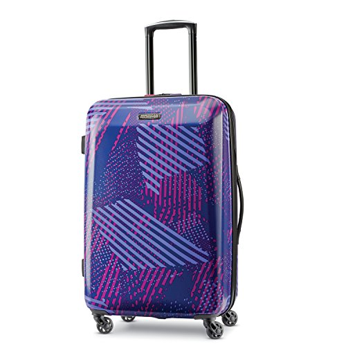American Tourister Checked-Medium, Purple Storm ()