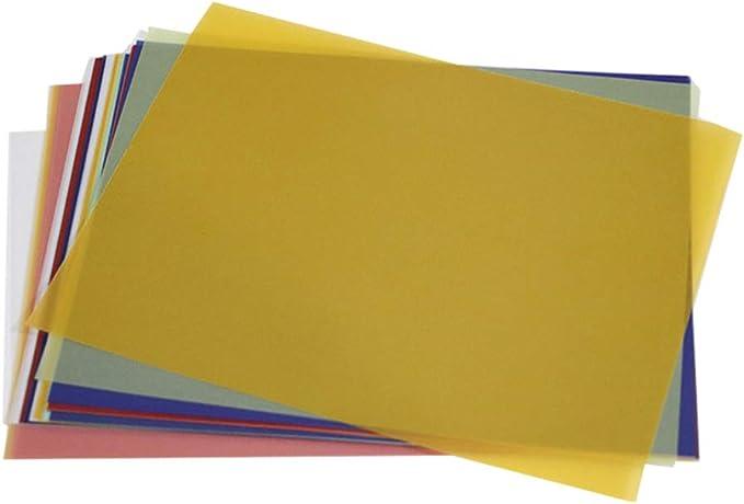 Artibest 40 piezas de papel de caligrafía de colores surtidos para impresión de dibujo, ingeniería, suministros de manualidades: Amazon.es: Hogar