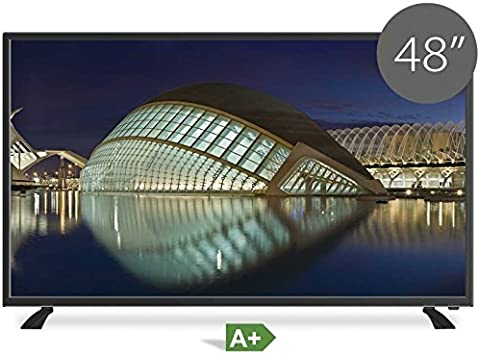 TD SYSTEMS Televisor Led Full HD 48 Pulgadas Ultra Slim Modelo 2016: Amazon.es: Electrónica