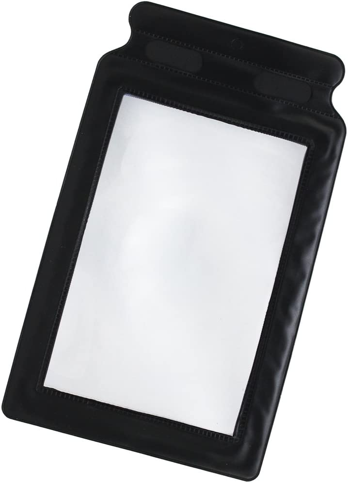 2x Vergrößerungsglas als Leselupe im DIN A5 Format für unterwegs